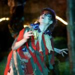 Ros Parker plays Puck in A Midsummer Night's Dream