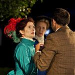 The Importance of Being Earnest - Rosalind Parker as Gwendolen. (Ann Pownall Photography.)
